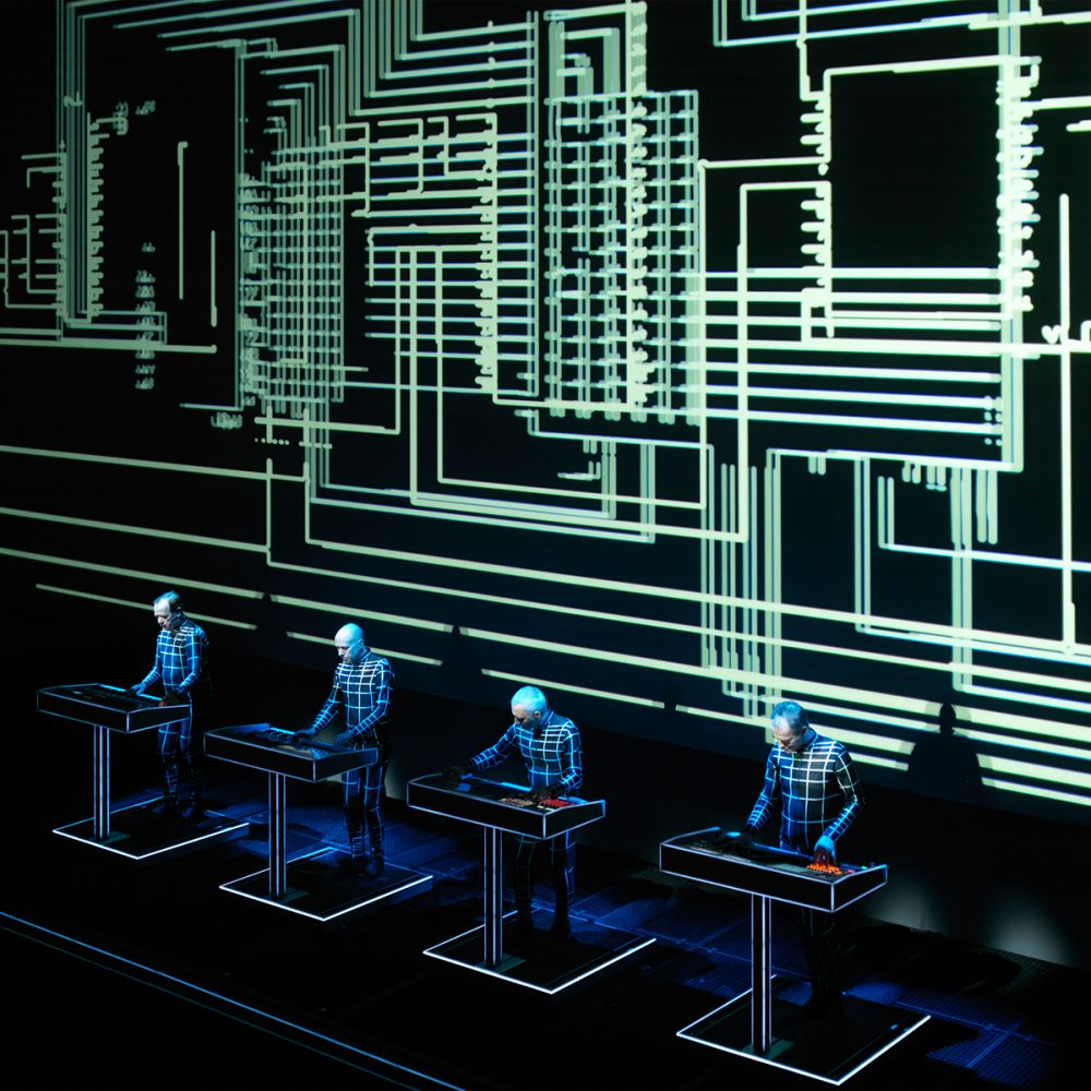 KRAFTWERK Fondation Louis Vuitton Paris