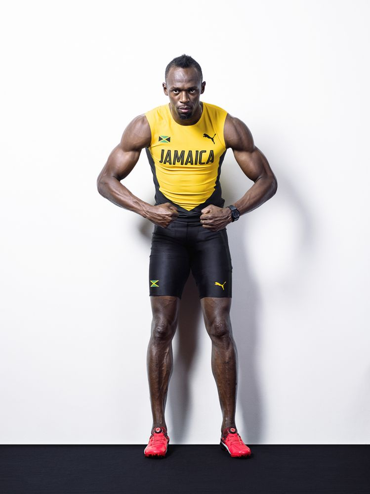 Usain Bolt for Puma 2016 by Tom Oldham/Puma